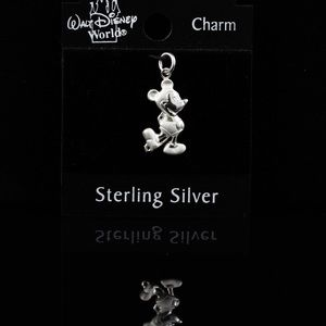 Mickey Mouse Sterling Silver Charm